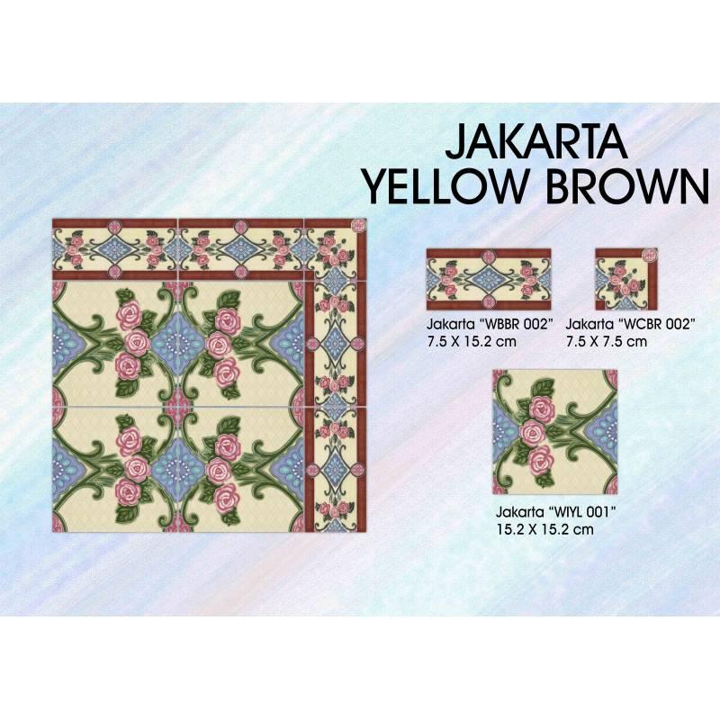 Jakarta Yellow Brown