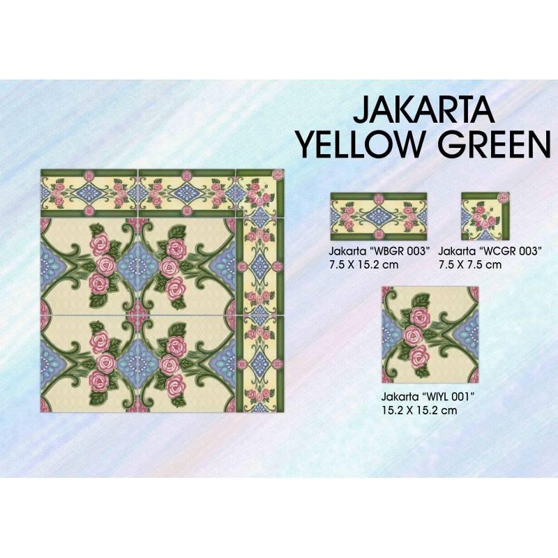 Jakarta Yellow Green