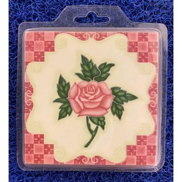 Duxton Red Coasters (Mug)