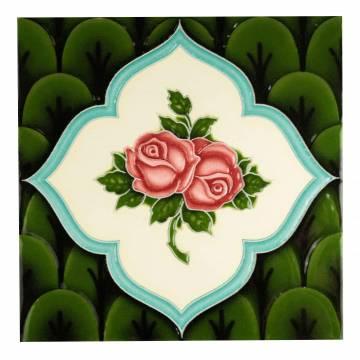 Green Rose Green (100 x 100 mm)