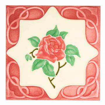 Red Rose Red (100 x 100 mm)