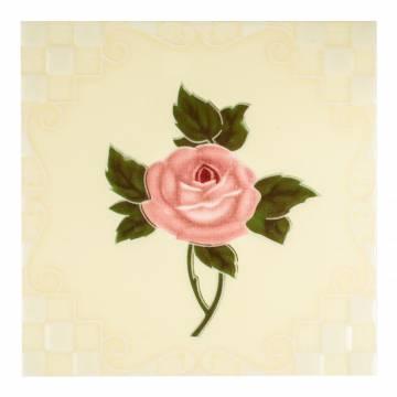 White Rose (100 x 100 mm)